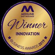 Medilink 'Winner' medal
