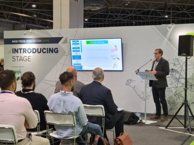 James Carpenter, CEO of SurePulse Medical Ltd presented recently at the MedTech Expo Pitch Competition at the NEC